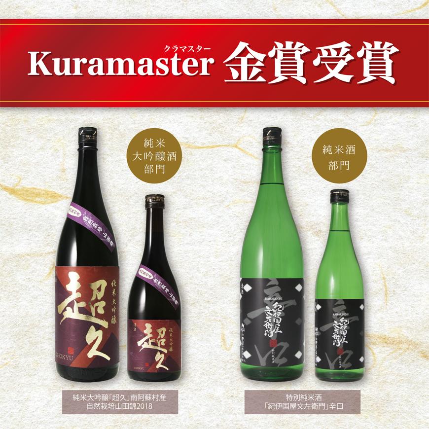 "【速報】""Kuramaster"" 金賞をW受賞!!【報道資料有】"