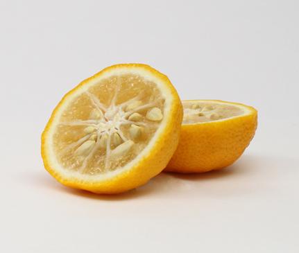冬のお風呂に柚子の香り