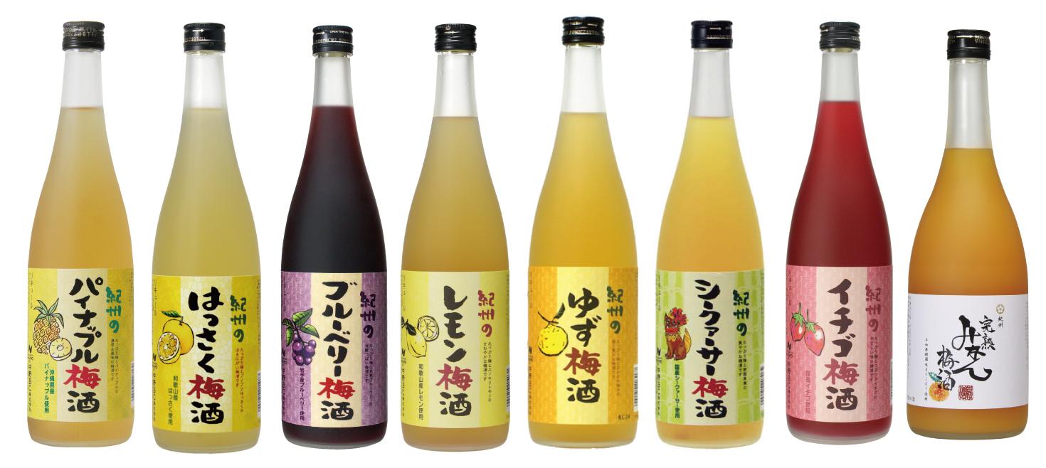 暑い夏は~フルーツ梅酒!!☆