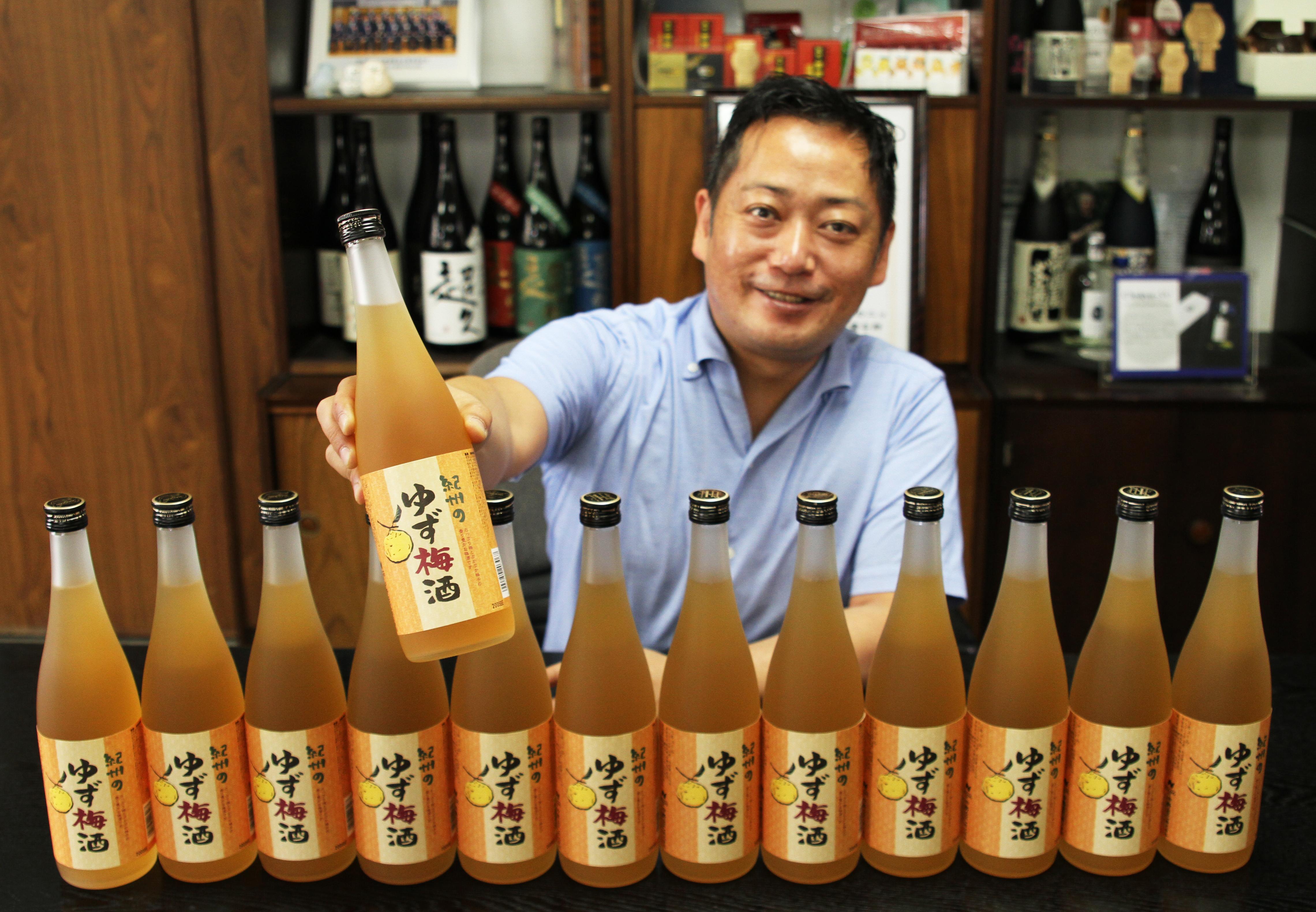 【梅雨も吹き飛ぶ、ウキウキな朗報‼】紀州のゆず梅酒が初の快挙!